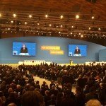 CDU-partijcongres Karlsruhe: Warm applaus voor Angela Merkel