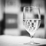 Optimistische houding bittere noodzaak: het glas is halfvol