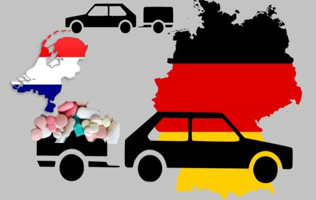Dure pillen in eigen land drijven Duitsers naar Nederland.