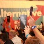 Anti-Merkel-sentiment geeft AfD vleugels