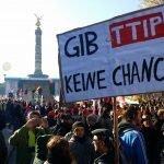 Duitse steun voor TTIP valt weg
