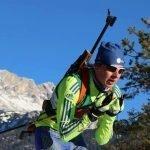 Jarl Hengstmengel is de enige biatlon-prof van Nederland